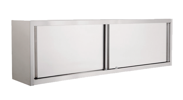 Hoehle Medical Stainless Steel Wall Cupboard With Sliding Doors Ideal For Hospital Laboratories Or Wherever Good Hygienic Properties Are Required